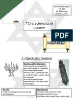 7characteristicsofjudaism-110308194923-phpapp02