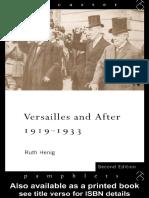 Ruth Henig - Versailles and After_ 1919-1933 (Lancaster Pamphlets) (1995).pdf