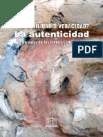 Loa valores de la Autenticidad en el Patrimonio Cultural