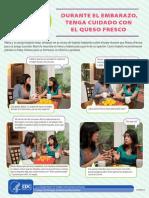 Listeria Hispanic Pregnant Women Soft Cheese Fotonovela Spanish 508