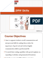 LSRW Skills