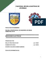 Mediciones Electricas Trabajo de Fisica