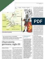 D100705 Batalla de Kalefeld - Charcutería germana, Siglo III