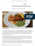 How Fish and Chips Became England's National Dish _ HowStuffWorks