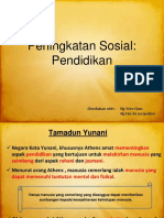 Sejarah_Peningkatan Sosial Pendidikan