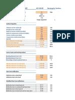 Deflection Sheet