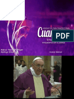 Mensaje Cuaresma Papa Francisco