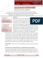 nitrofurantoin sensitivity pattern