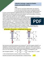9. Deformari Elastice Izotrope. Legea Lui Hooke. Energia Potentiala Elastica
