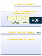 8 Strength of Components Under Combined Loading