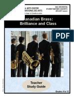 Teacher Study Guide - Canadian Brass 3