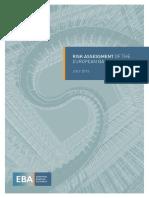 Risk Assessment of the European Banking System