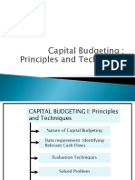 Chapter 3 Capital Budgeting Techniques