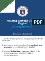 ENGLISH 9 MODULE 1