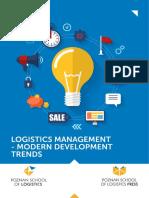 Logistics Management-modern Development Trends Part1 Chapter 1