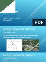 7. Water Flow in Open Channels