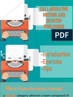 Collab and Desktop Publishing