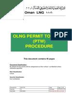 Permit to Work Procedure