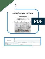 Lab01 - Intro Modulo de Potencia