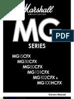 Manual Ampli Marshall Mg_series