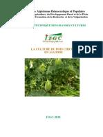 Brochure Pois Chiche Finale 2018 ITGC