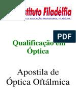 APOSTILA óptica oftálmica