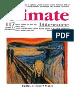 Climate Literare nr. 117, iulie - august 2019