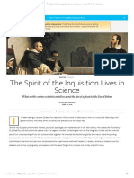 The Spirit of the Inquisition Lives in Science - Issue 73_ Play - Nautilus