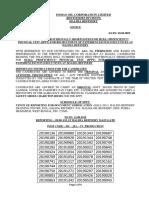 Haldia Refinery Notice for SPPT on 12-08-2019