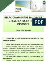 Relacionamentos Saudaveis Entre Pastores