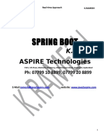 Spring Boot Material