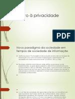 Direito à privacidade.pptx