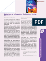 Initiatives Information Technology Sector