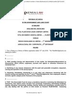 Kenya Court  - Vital Bio-Energy