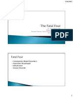Fatal four