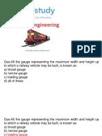 Class 5-Railway Engineering by Sandeep Jyani Sir