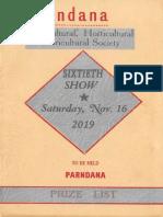 2019 Parndana Show - Facebook
