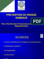 Amélioration Parasismique Des Bâtiments Départementaux FR