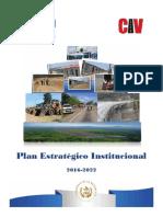 2016-2022 Plan Estratégico Institucional -PEI