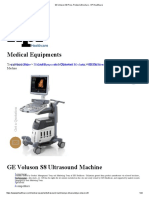 GE Voluson S8 Price, Probes & Brochure - KPI Healthcare