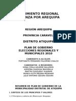 Plan Caraveli