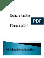 Geometria Analítica (Apostila)