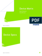 Maxis Enterprise Device Matrix Feb 2019 v2.0