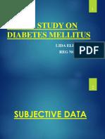A Case Study on Diabetes Mellitus