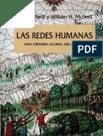 Las Redes Humanas. Una Historia Global Del Mundo - J. R. McNeill