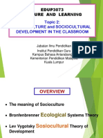 Dr Chin Topic 2 Socioculture 2018