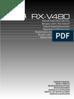 Yamaha RXV480