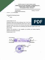 Surat Permohonan Pemateri MATSAMA