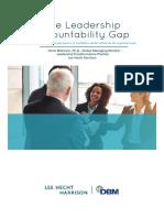Accountability Gap 2017