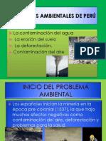 Problemas Ambientales de Perú